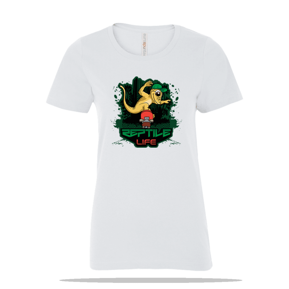 Skate Gecko Ladies Tee