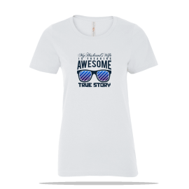 Awesome Wife Ladies Tee