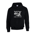 Bearded Dragon Happy Unisex Hoodie