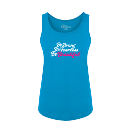 Be Beautiful Ladies Tank Top