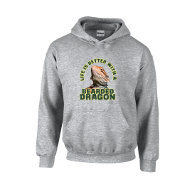 Better Bearded Dragon Unisex Hoodie