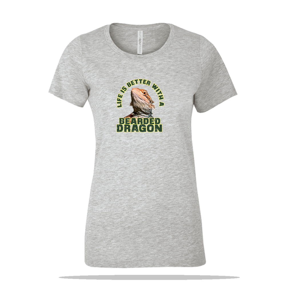 Better Bearded Dragon Ladies Tee