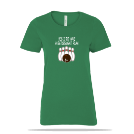 Bowling Retirement Plan Ladies Tee