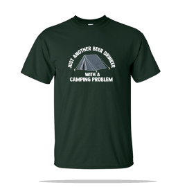 Camping Problem Unisex Tee