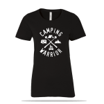 Camping Warrior Ladies Tee
