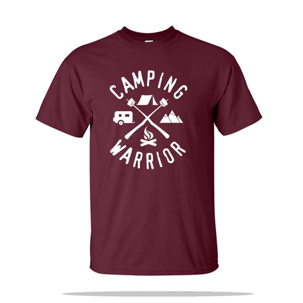 Camping Warrior Unisex Tee