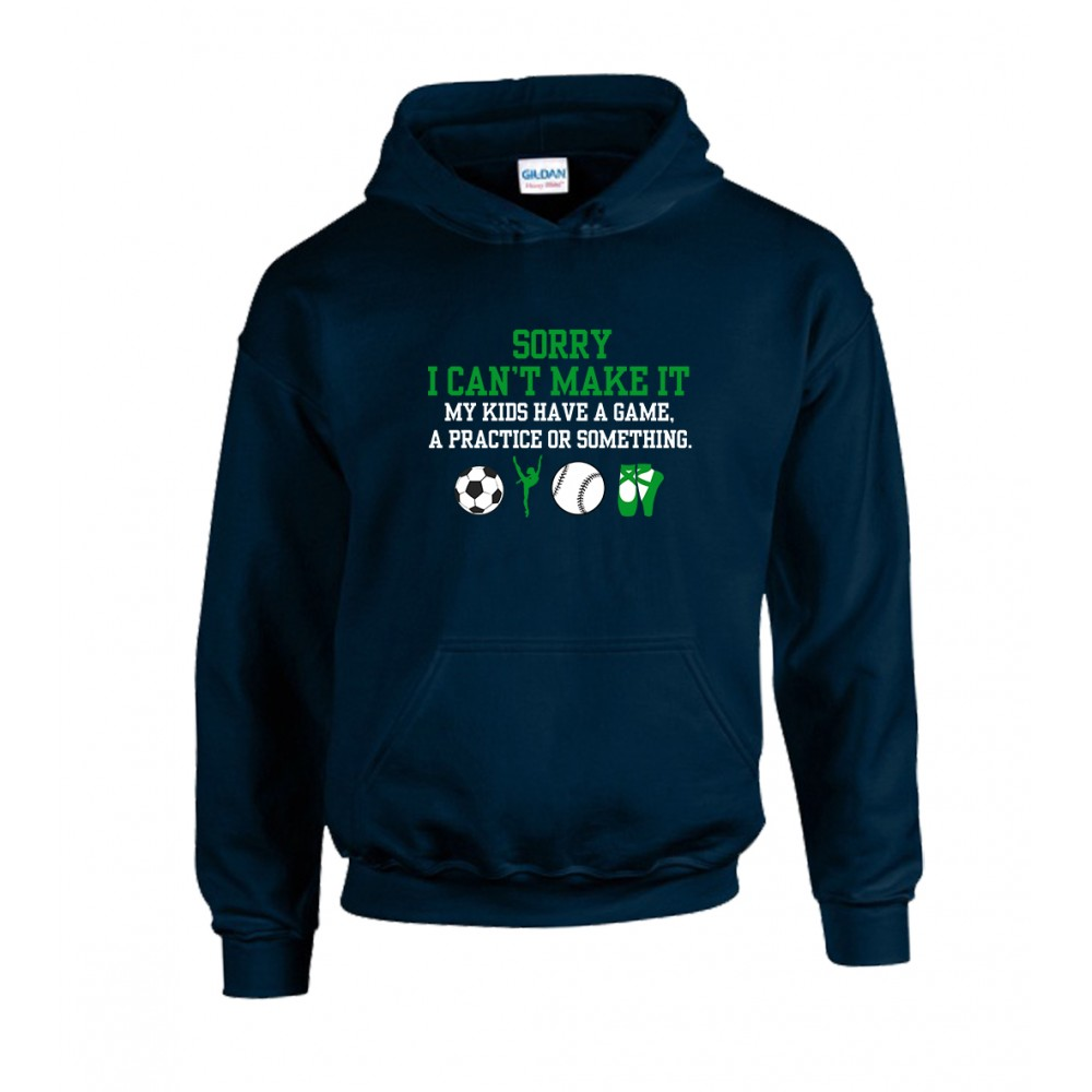 Cant Make It Unisex Hoodie