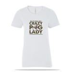 Crazy Pug Ladies Tee