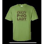 Crazy Pug Unisex Tee