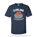 Curling Bacon Sports Unisex Tee