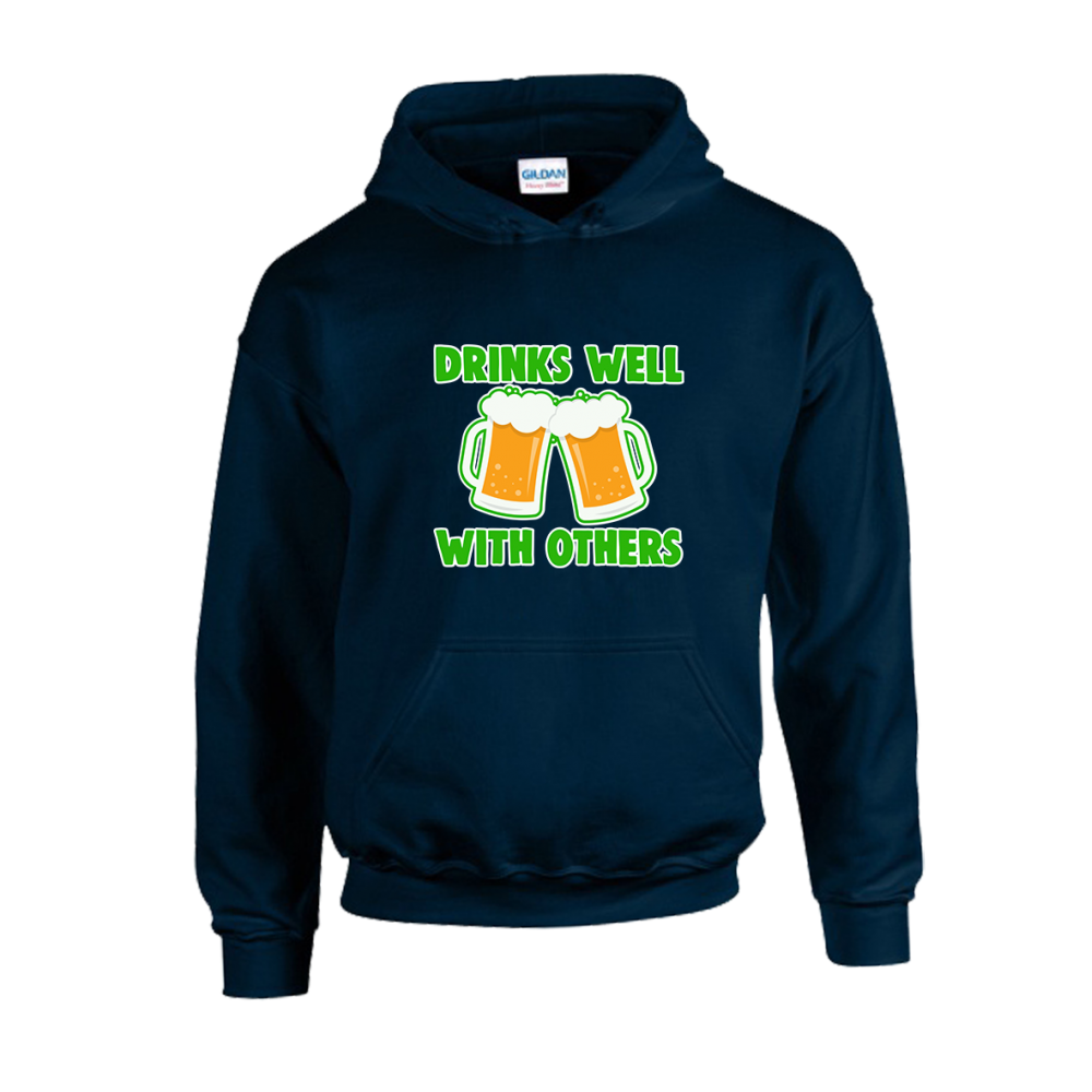 Drinks Well With Others Unisex Hoodie