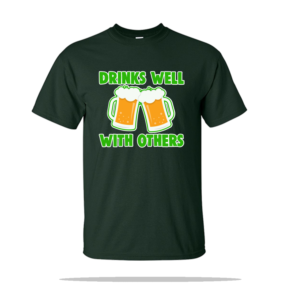 Drinks Well With Others Unisex Tee