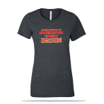 Except Bacon Ladies Tee