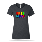 Free Hugs Ladies Tee
