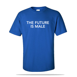 Future Is Male Unisex Tee