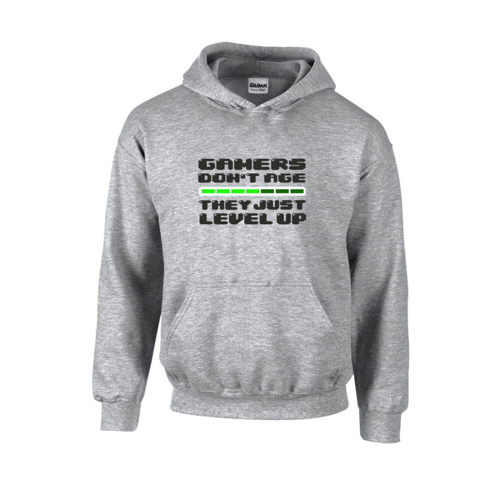 Gamers Level Up Unisex Hoodie