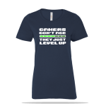 Gamers Level Up Ladies Tee