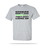 Gamers Level Up Unisex Tee