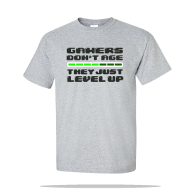 Gamers Level Up Unisex Tee