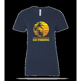 Go Fishing Ladies Tee