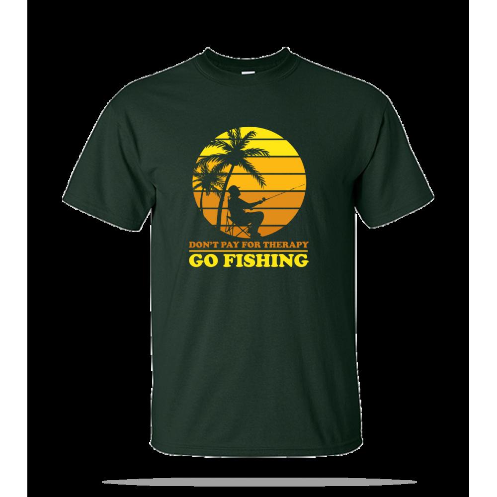 Go Fishing Unisex Tee