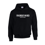 Great In Bed Unisex Hoodie