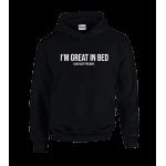 Great In Bed Unisex Hoodie
