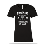 Hawkins AV Club Ladies Tee