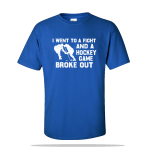 Hockey Game Broke Out Unisex Tee