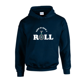 How I Roll Unisex Hoodie