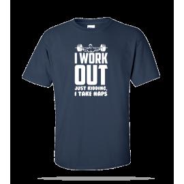 I Workout Unisex Tee