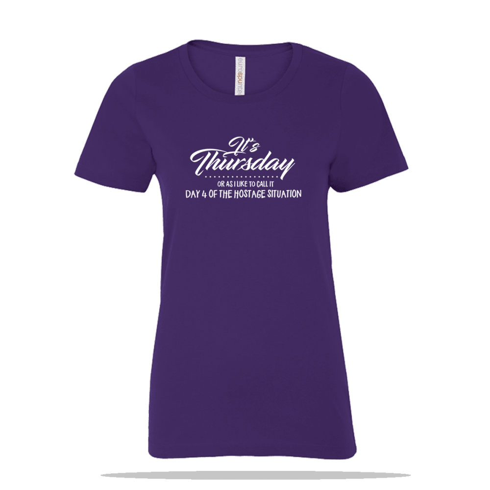 Its Thursday Ladies Tee