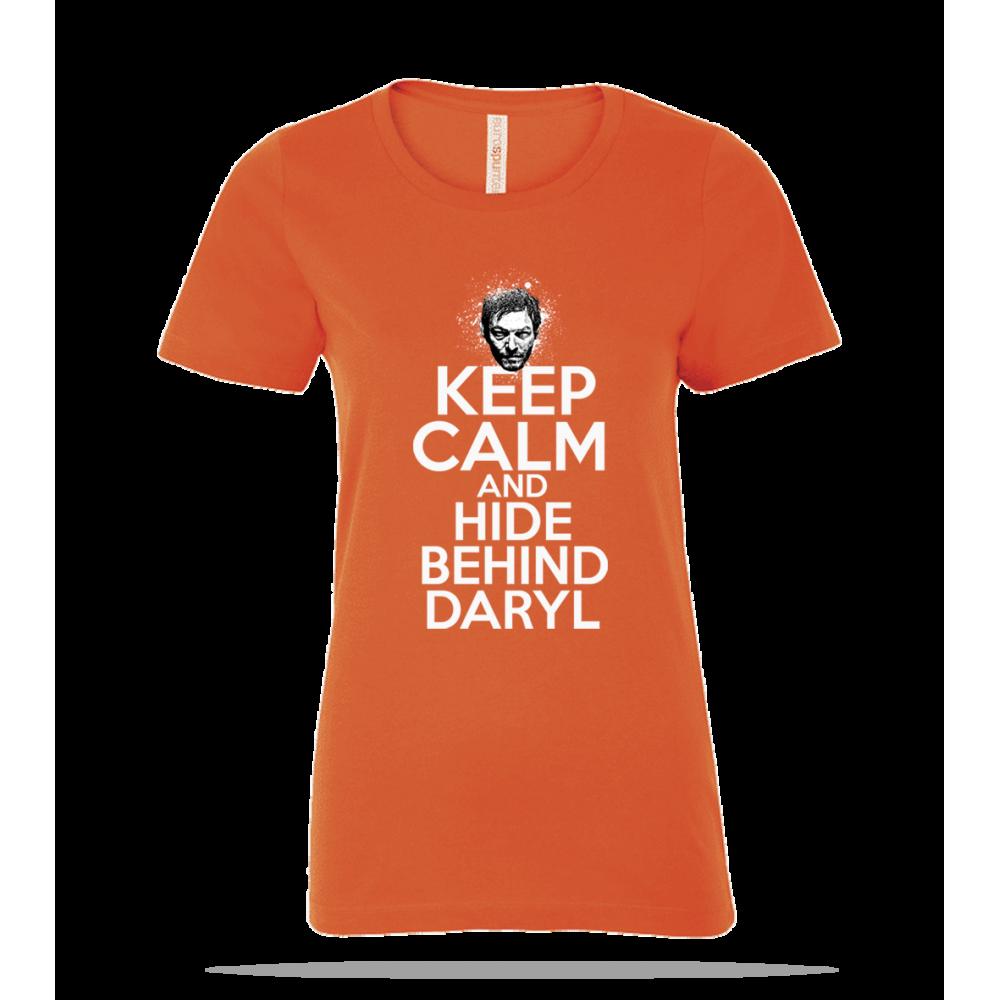 Keep Calm Daryl Ladies Tee