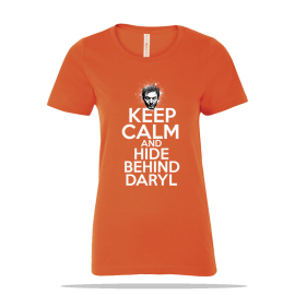 Keep Calm Daryl Ladies Tee