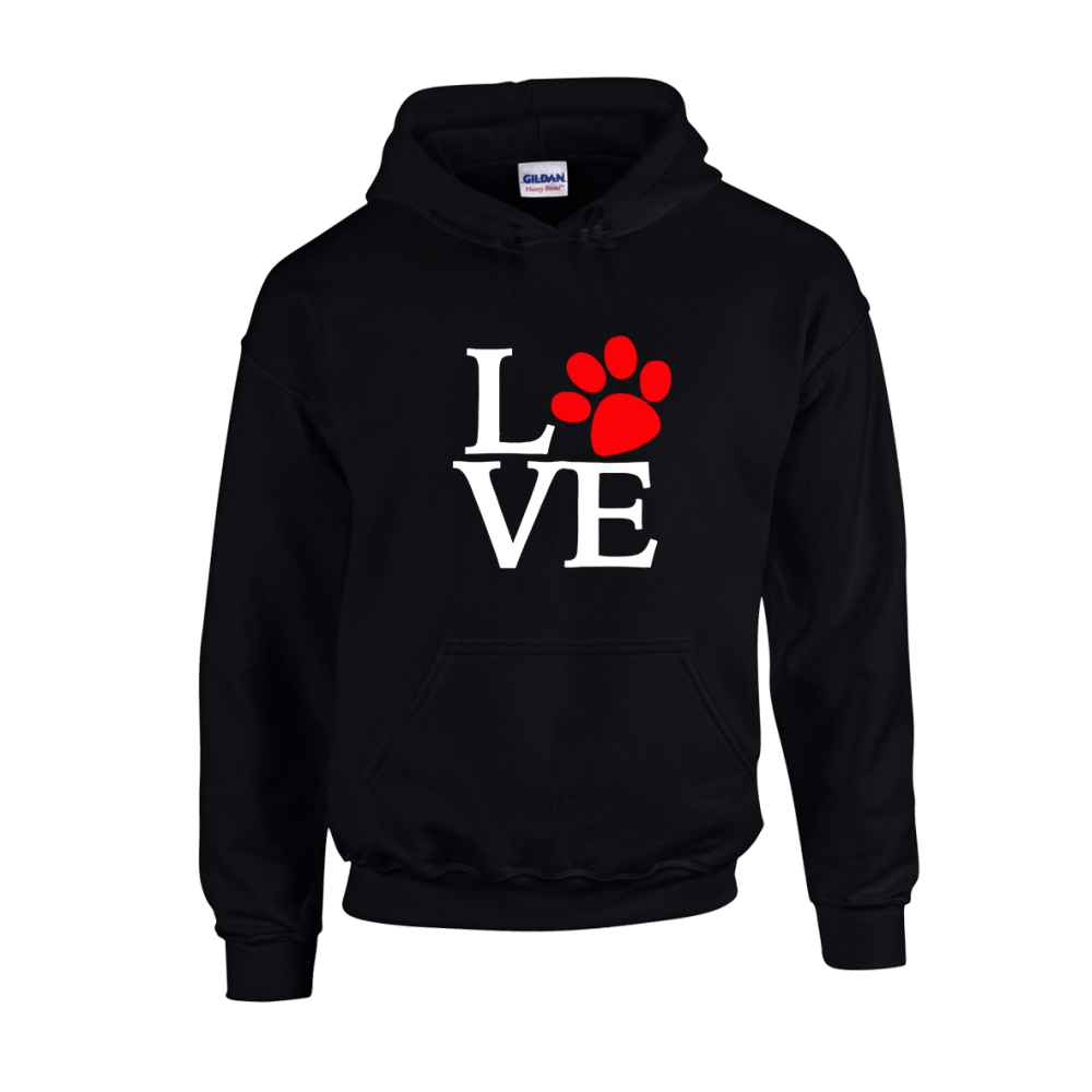 Love Dog Unisex Hoodie
