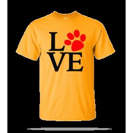 Love Dog Unisex Tee