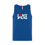 Love Pug Unisex Tank Top