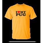 Love Pug Unisex Tee
