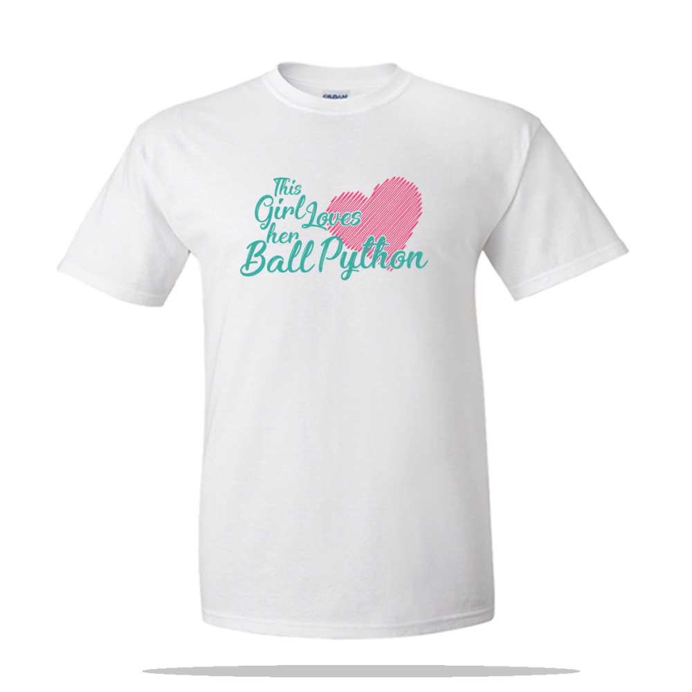 Loves Ball Python Unisex Tee