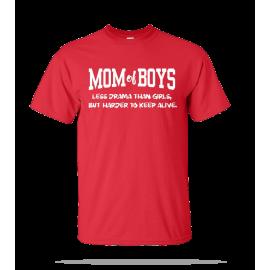 Mom Of Boys Unisex Tee