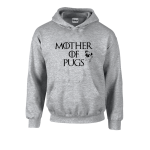 Mother Of Pug Unisex Hoodie