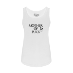 Mother Of Pugs Ladies Tank Top