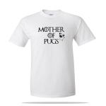 Mother Of Pugs Unisex Tee