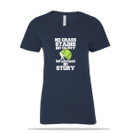 No Grass Stains Ladies Tee