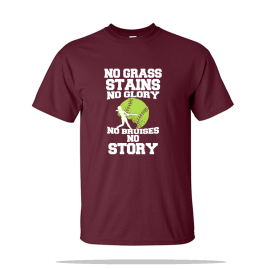 No Grass Stains Unisex Tee