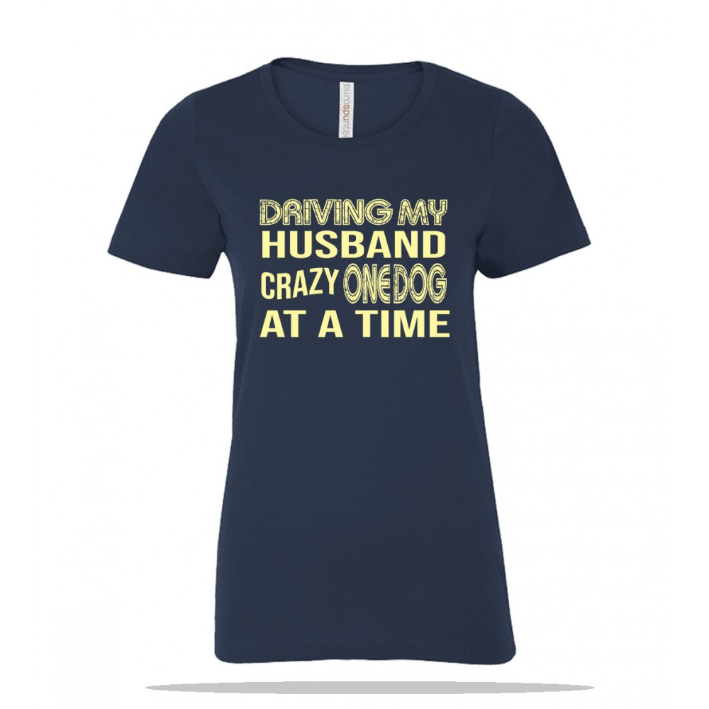 One Dog at a Time Ladies Tee