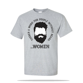 People Without Beard Unisex Tee