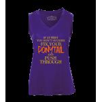 Ponytail Ladies Sleeveless Top