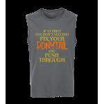 Ponytail Unisex Sleeveless Top