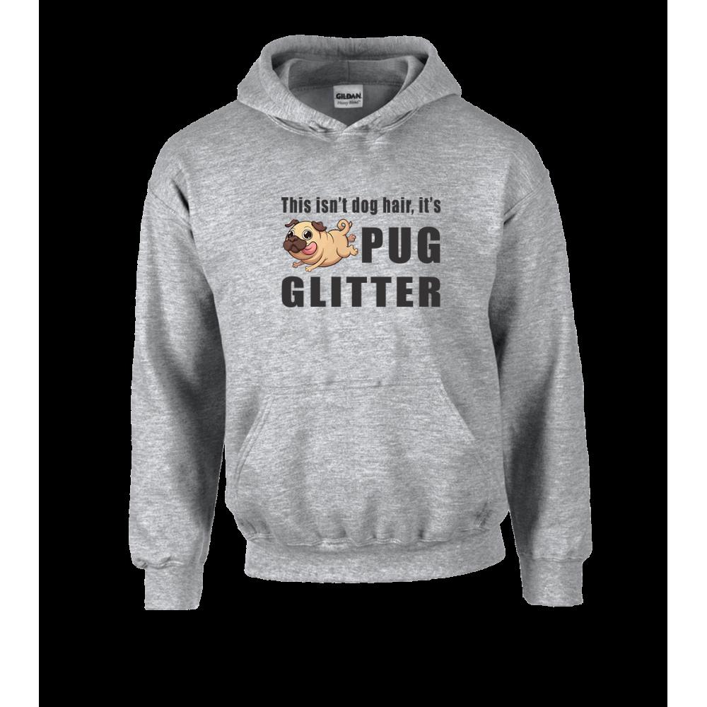 Pug Glitter Unisex Hoodie